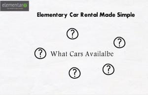 Elemetary Car Rental